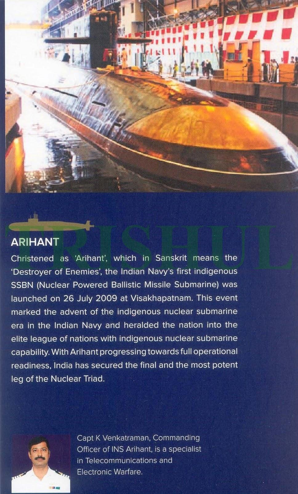 ARIHANT SSBN in IFR-2016 Commemorative Booklet.jpg
