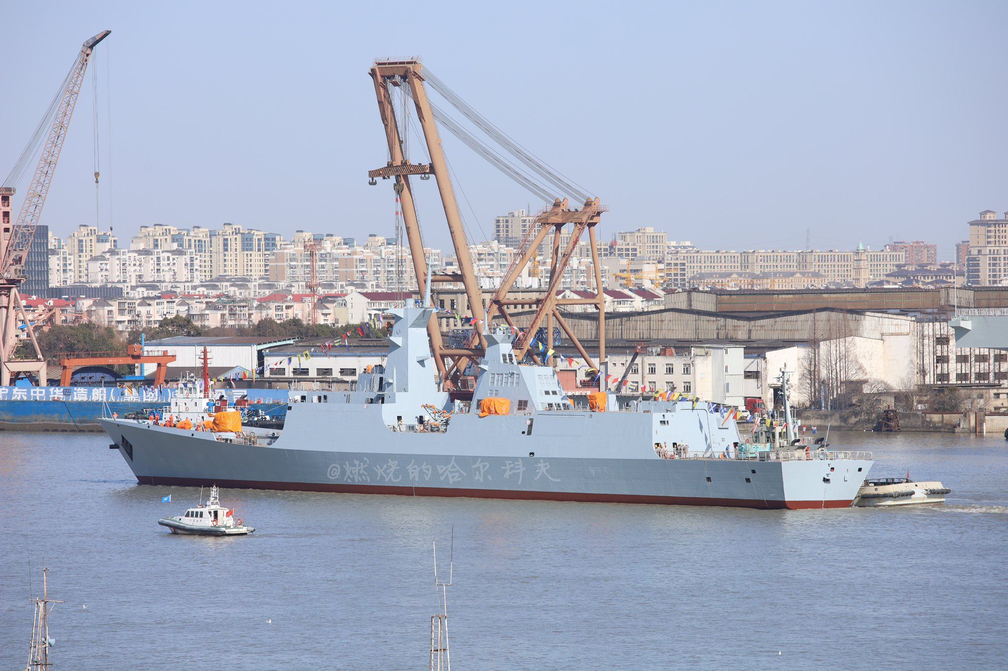 Chinese-Shipyard-Launches-2nd-Type-054-AP-Frigate-For-Pakistan-Navy-.jpg