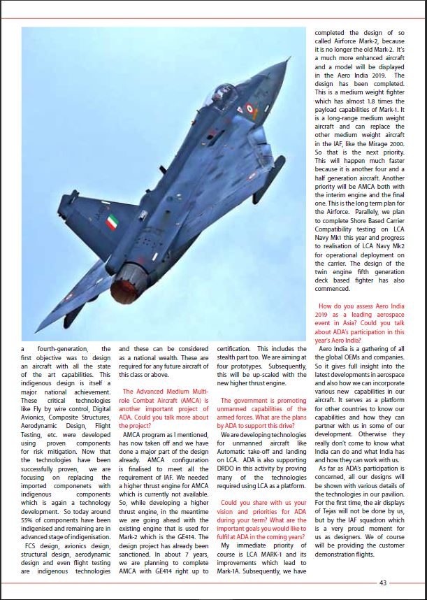 LCA Tejas Mk2 (Medium Weight Fighter) - News and discussions